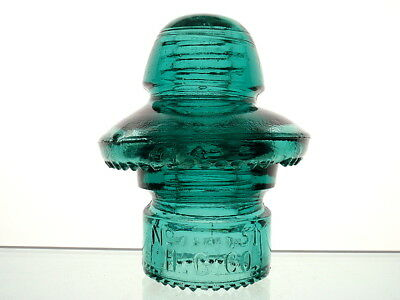 SUPERB- No 51 H.G.CO. PAT 1893 DOUBLE DRIPS UMBRELLA TRANSPOSITION Insulator