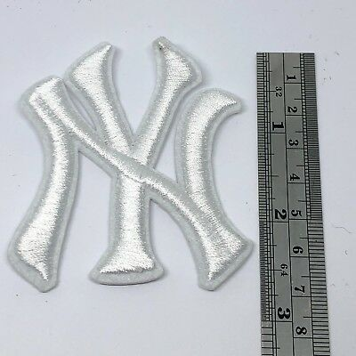 NY Newyork Yankee Team boy kid Sew Iron On Embroidered Patch Applique