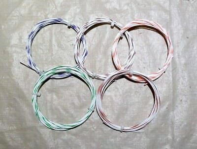 20 AWG Mil-Spec Wire (PTFE)  Stranded Silver Plated Copper, Assortment 50 ft