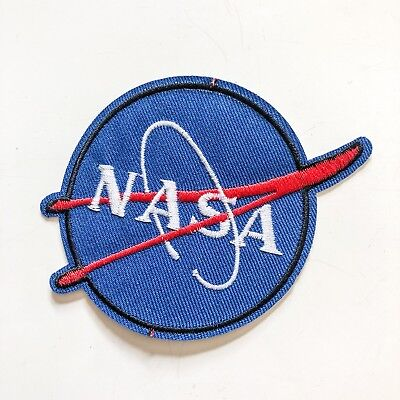 NASA Uniform Logo Space Suit Sew Iron On Embroidered Patch Applique