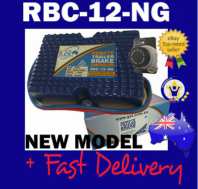 Rbc-12-Ng Electric Trailer  Brake Controller Gsl Remote Mount  - New Model