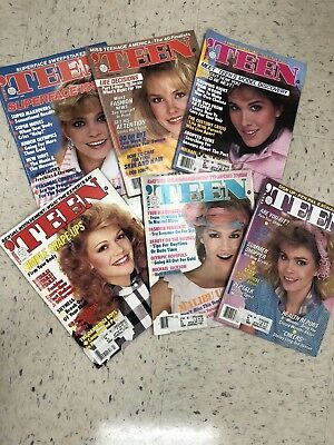 Vintage Teen Magazines From The 1980s.  Lot Of 6.