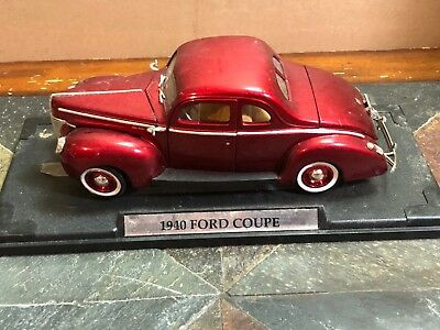 1940 Ford Coupe  1:18 Scale Die Cast With stand