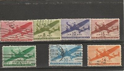 USA 1941 Airmail Set Used