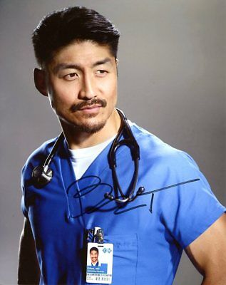 Brian Tee CHICAGO MED In Person Signed Photo  UACC