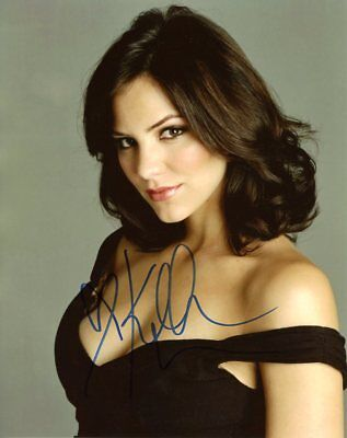 Katherine McPhee PRETTY In Person Signed Photo  UACC