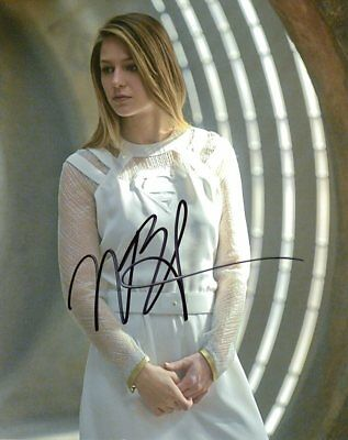 Melissa Benoist SUPERGIRL In Person Signed Photo  UACC