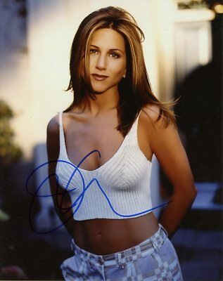 Jennifer Aniston GORGEOUS In Person Signed Photo  UACC