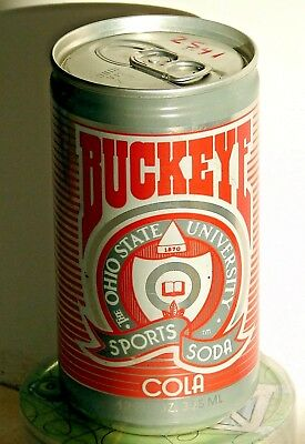 Buckeye Cola; Sports Beverage Company; Champaign, IL; Soda Pop Can