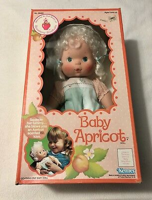 Strawberry Shortcake Baby Apricot Blow Kiss Doll With Box