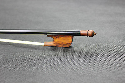 Baroque Style Violin Bow Carbon fiber strong stick snakewood frog size 4/4
