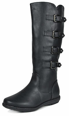 DREAM PAIRS Women's Faux Fur-Lined Knee High Winter Boots  (Wide calf available)