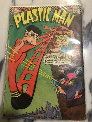 Plastic Man (1st Series DC) #3 1967 VG+ 4.5 Low Grade