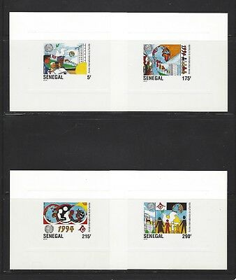 Senegal 1994 Sc#1104-7 1994 World Cup Soccer Championships-Deluxe Proofs MNH Set