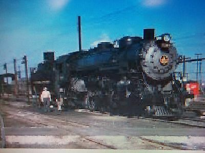 B&o Steam Fan Trip From Cleveland, Ohio To Holloway Ohio May 1958  Vintage  Film
