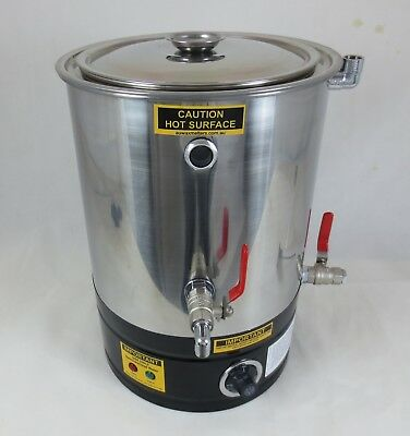 15lt Double Boiler, Wax Melting Pot, Candle Making, Wax Melter, Soy Wax Heater
