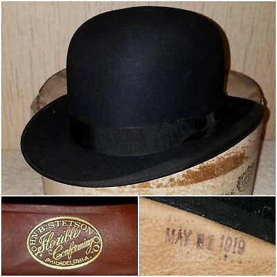 1919 Stetson exposition Derby 1900s 1910s 1920s
