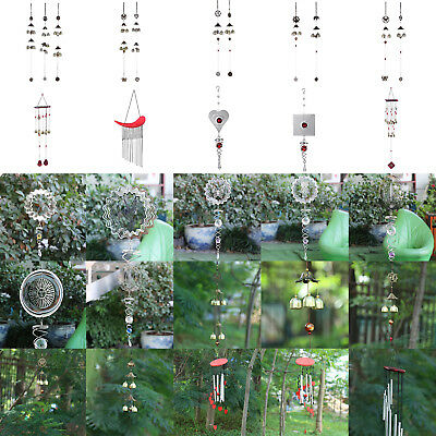 Large Wind Chimes Bell Copper Tubes Outdoor Yard Garden Xmas DIY Decor Ornament