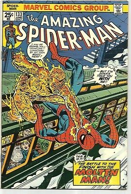 AMAZING SPIDER-MAN #133    Beautiful Early Silver Age Nice  VF8.5