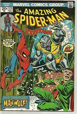 AMAZING SPIDER-MAN #124    Beautiful Early Silver Age  Solid FN/VF7.0