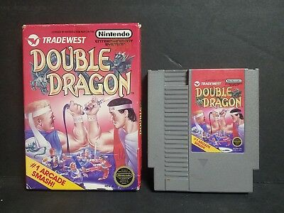 Double Dragon (Nintendo Entertainment System, 1988) NES Boxed