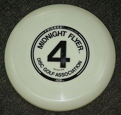 Vintage c1979 Frisbee Disc - Midnight Flyer 4 Wham-O