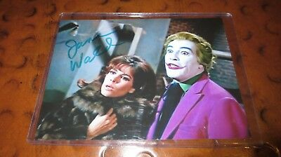 Jane Wald signed autographed photo as Jill the Joker's girlfriend Batman TV show