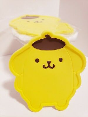1Pc Pom Pom Purin Pad Mat Holder Coffe Cute for Collectors Coaster Cup Mug NEW