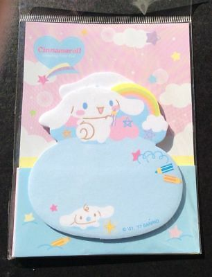 Cinnamoroll Sticky Notes 02pads SANRIO Japanese Bookmark Pads Notes Kawaii NEW