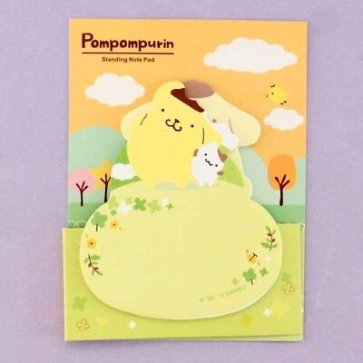 Pompompurin Standing Note Pad Sticky SANRIO Japanese Bookmark Notes 02 Designs