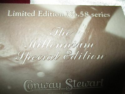 Limited Edition Millenium #58 by Conway Steward some call it the Holloween NIB