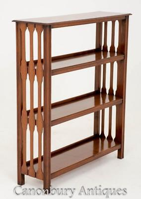 Arts and Crafts Open Bookcase in Walnut Circa 1890