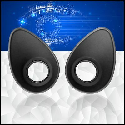 A Pair Rubber Eye Cups Eye Guards for 34-36mm Microscope Eyepiece Telescope 35mm