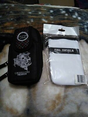 Crisis Core Final Fantasy Vii Brand New! Collectors Psp Carrying Case Ff Iii Bag