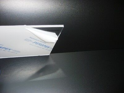 clear acrylic panel 5mm thick A/4 .a one off discounted price
