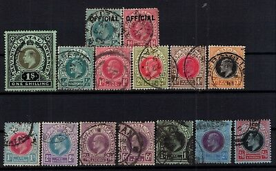 P87697/ Natal / Lot 1904 - 1909 Obl / Used High Catalogue Value