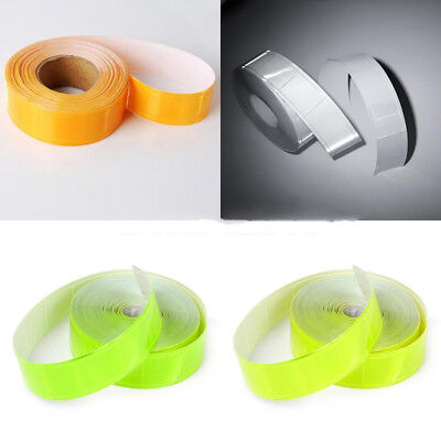 10m x 2.5cm Reflective Conspicuity Tape Strip Safety Coat Armband Warning