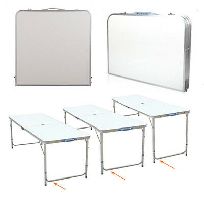 4FT Folding Table Portable Indoor/Outdoor Picnic Party Dining Camping Table