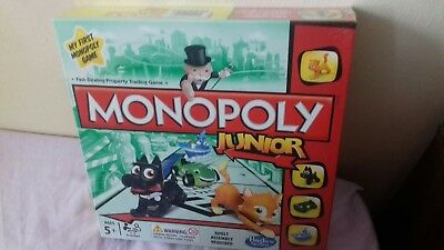 Monopoly Junior Board Game My First Monopoly