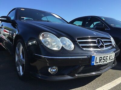 56 Mercedes-Benz Clk 280 3.0 Sport Tip Convertible 1/2 Leather,climate,roof U/s