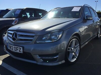 2012 Mercedes C220 2.1 Cdi Bluemotion Sport Estate, Leather,  Amg Alloys Lovely