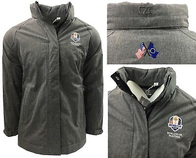 RARE Cutter & Buck MENS Ryder Cup Quilted Padded Jacket -RRP£100 - SMALL MEDIUM