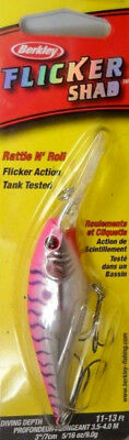 Berkley Flicker Shad, 70mm - Pink Cougar, Bass Trout Redfin Lure