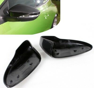 VW Scirocco MK3 Carbon Fibre Wing Mirror Covers Full Replacement Caps 08+ UK