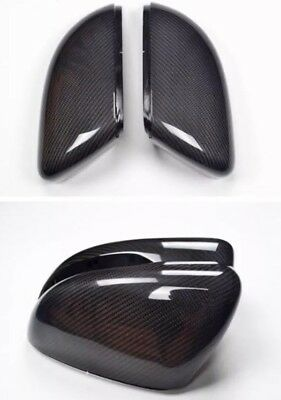VW Scirocco, Passat B7,CC Carbon Fibre Wing Mirror Covers Full Replacement Caps