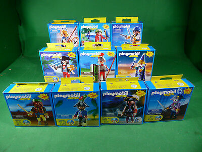 10x Playmobil Special US Pals Special Piraten/Ritter  Lot       - MISB - NOS
