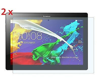2 x Lenovo Tab E10 10.1 Inch 16GB Tablet Clear Screen Protectors [2-Pack]