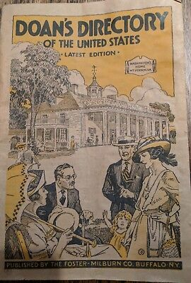 1924 DOAN'S DIRECTORY of the United States