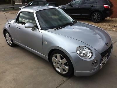 2009 Daihatsu Copen 1.3 Petrol 2 Door Convertible In Silver With Red Leather