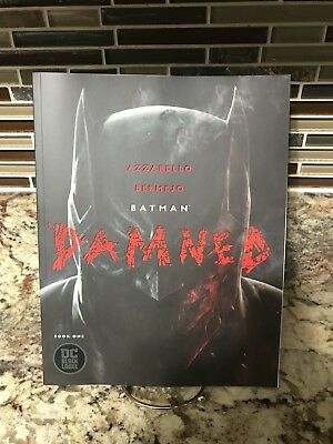 BATMAN DAMNED 1 Cover A First Printing Nude Panel  Batman DC 2018 Black Label